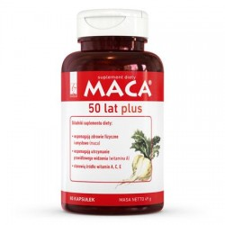Maca 50 years plus 80 capsules